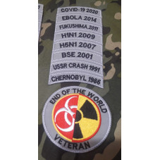 PATCH VETERAN END OF THE...