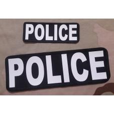 PATCH POLICE WHITER  2 UND...