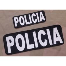 PATCH POLICIA WHITER  2 UND...