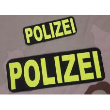 PATCH POLIZEI YELLOW FLUOR...