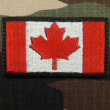 PATCH CANADA FLAG COLOR...