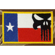 FLAG TEXAS THE PUNISHER...
