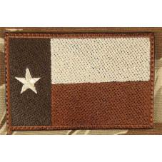 FLAG TEXAS desert  VELCRO...