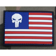 PATCH PVC FLAG USA THE...
