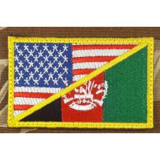 PATCH  FLAG USA-AFGANISTAN...
