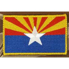 PATCH FLAG ARIZONA  USA...