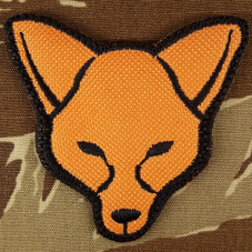 PATCH MORALE FOX  ORANGE...