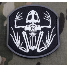 PATCH PVC FROG SKELETOR...