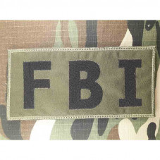 PATCH FBI-HRT POLICE USA...