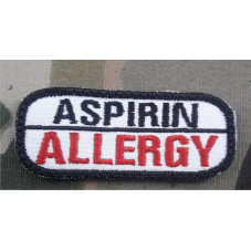 PATCH ALLERGY ASPIRIN...