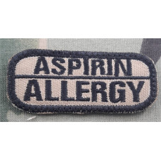 PATCH ALLERGY ASPIRIN MEDIC...