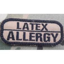 PATCH LATEX ALLERGY MEDIC...