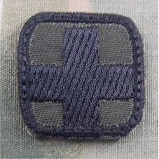 PATCH CROSS BLACK OD MICRO...