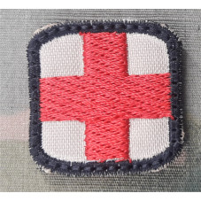 PATCH CROSS RED DESERT...