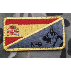 PATCH FLAG SPAIN K9 DOG ,...