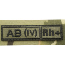 PATCH BLOOD TYPE AB + POS...