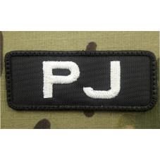 PATCH PJ  PARARESCUE BLACK...