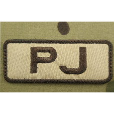 PATCH PJ PARARESCUES USAF...