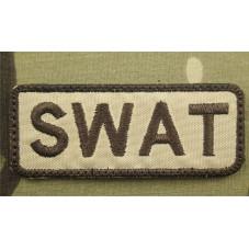 PATCH SWAT DESERT VELCRO...