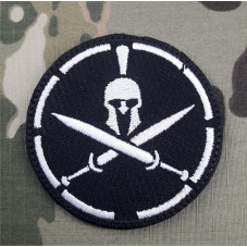 PATCH SPARTAN VELCRO 70X70mm