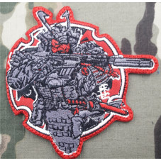 PATCH SAMURAI WARRIOS...