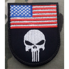 PATCH FLAG USA THE PUNISHER...