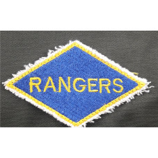 PATCH RANGERS WW2 90X50 mm