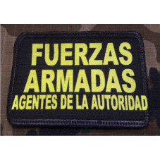 PATCH FUERZAS ARMADAS...
