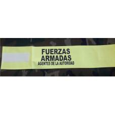 BRAZALETE FUERZAS ARMADAS...